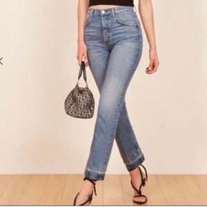 Reformation Cynthia high waisted Jeans 27 NWT